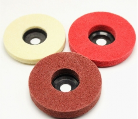 T27 Nylon Wheel with Nylon / Fiberglass /Metallic Backing