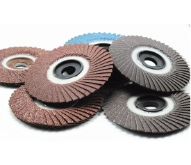 Radial flap disc