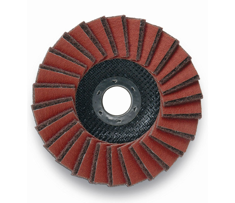 Combi nonwoven flap disc