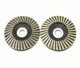 Diamond flap disc