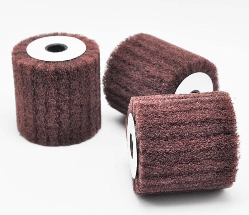 Non-woven Flap Brush Wheel / Interleaf Drums