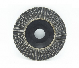 Flap Disc--Dual flaps(Aluminum oxide/Zirconia/Silicon carbide+nylon backing)