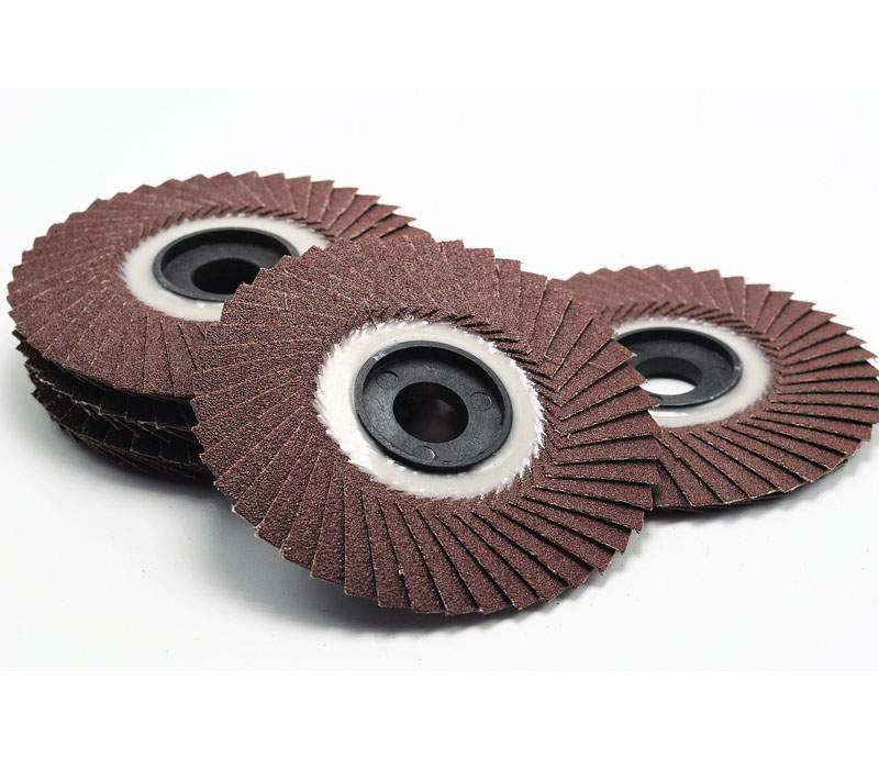 Radial flap disc