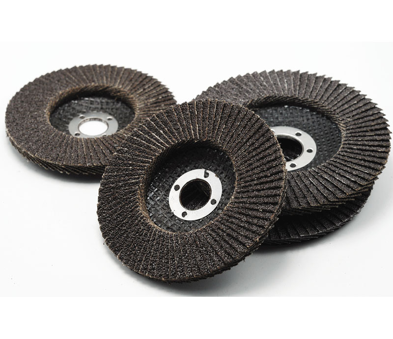 Calcined aluminium oxide fiberglass backing flap disc