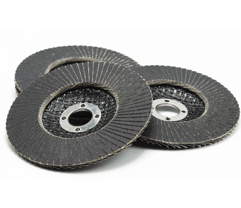Silicon carbide fiberglass backing flap disc