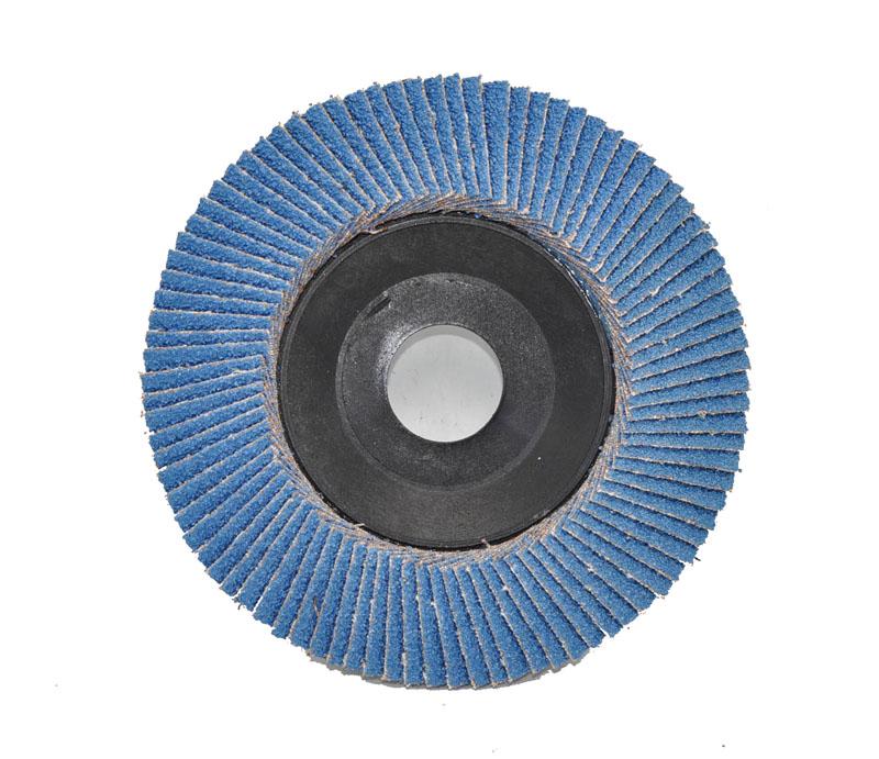 Aluminum oxide / Zirconia / Silicon carbide + nylon backing
