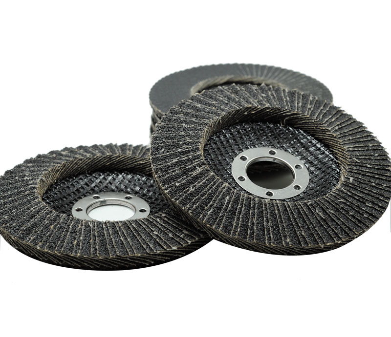 Flap Disc--Dual flaps(Aluminum oxide/Zirconia/Silicon carbide+fiberglass backing)