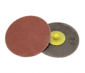 (Aluminum oxide / Zirconia / Ceramic / Silicon carbide) Quick change roloc disc