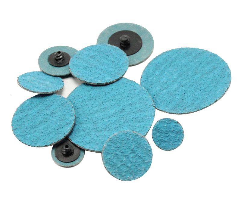(Aluminum oxide / Zirconia / Ceramic / Silicon carbide) Quick change roloc disc